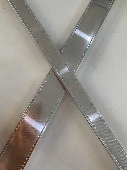 高频焊镜面中空铝隔条